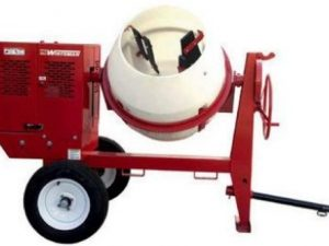 MultiQuip Gas Powered Cement Mixer for rent