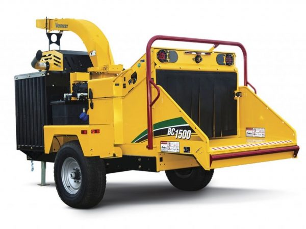 vermeer Bc1500 for rent