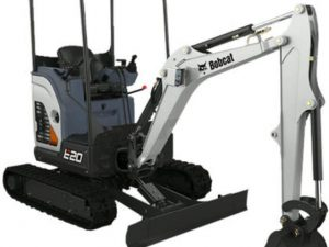 Bobcat E20 Mini Excavator for rent