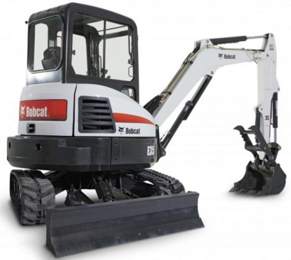 Bobcat E35 Mini Excavator for rent