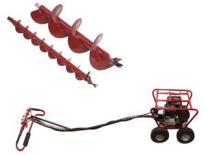 Little Beaver 8 HP Earth Drill for rent
