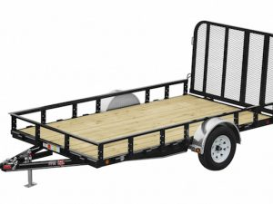 6.5x12 utility trailer for rent